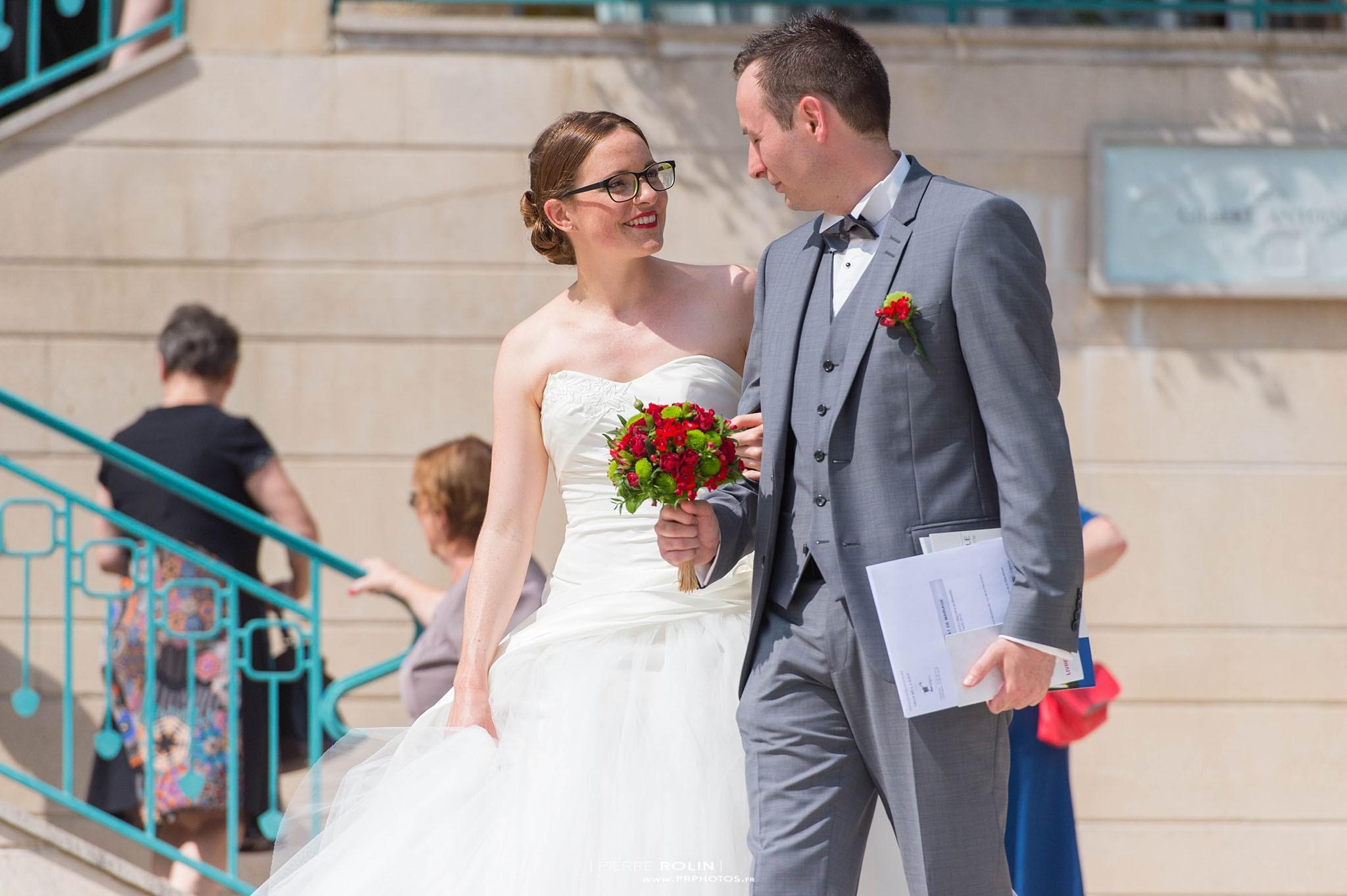 Mariage – Sortie de la Mairie