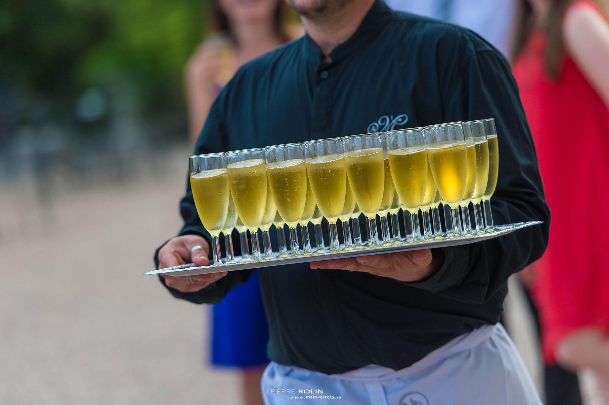 Mariage – Réception lors du vin d'honneur