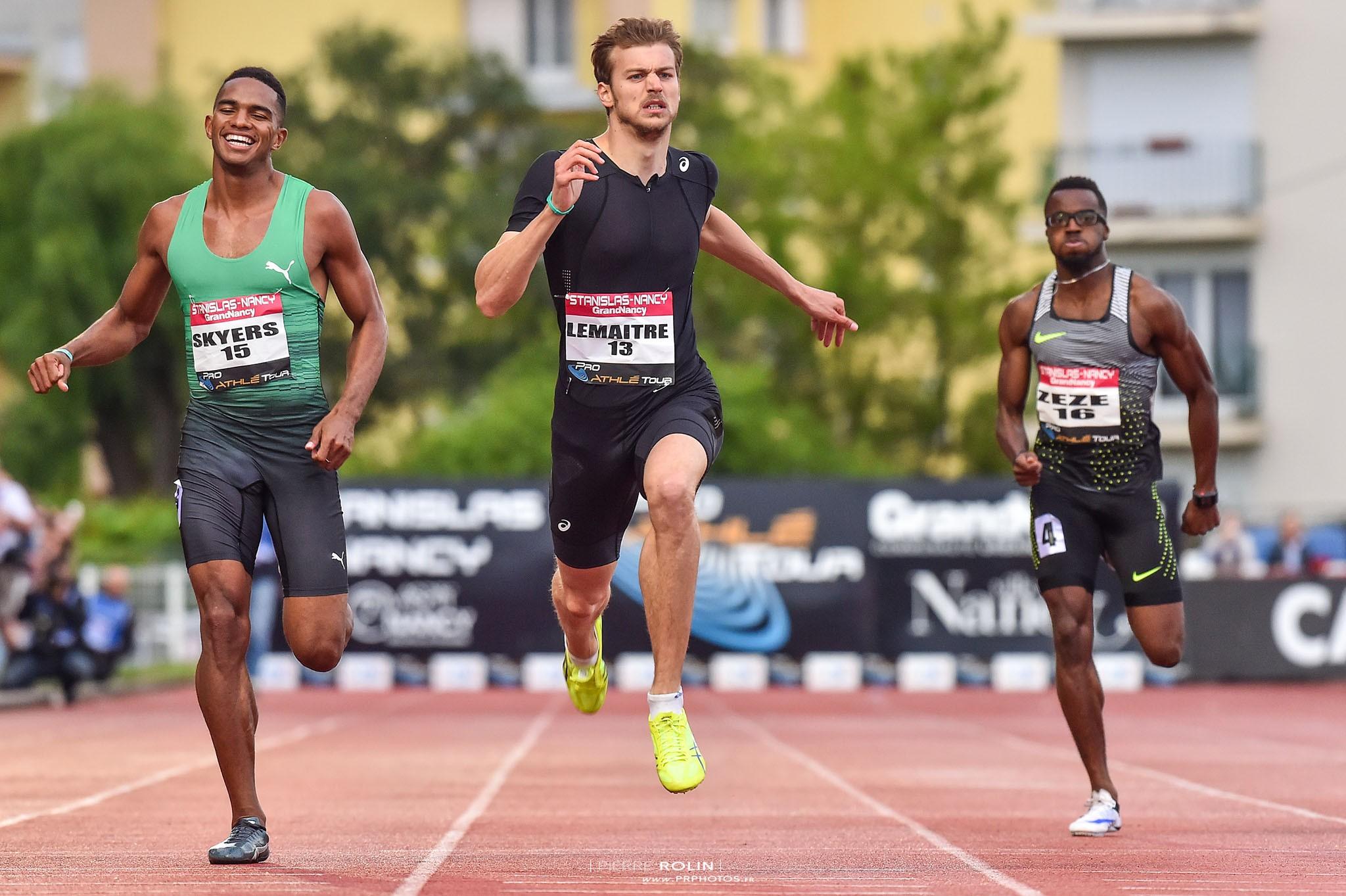 Christophe Lemaitre – Athlétisme   Sport professionnel