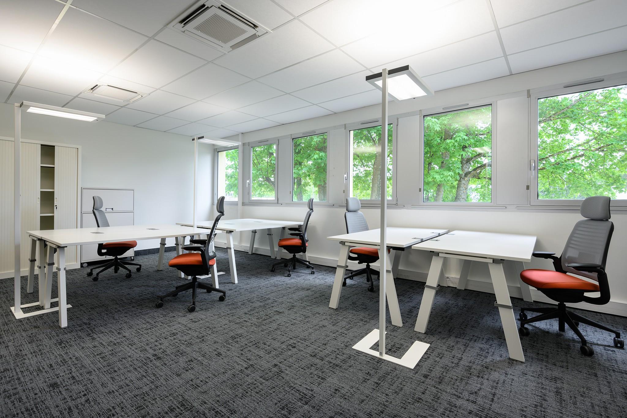 Photo de bureaux. Immobilier d'entreprise à Nancy & Meurthe-et-Moselle
