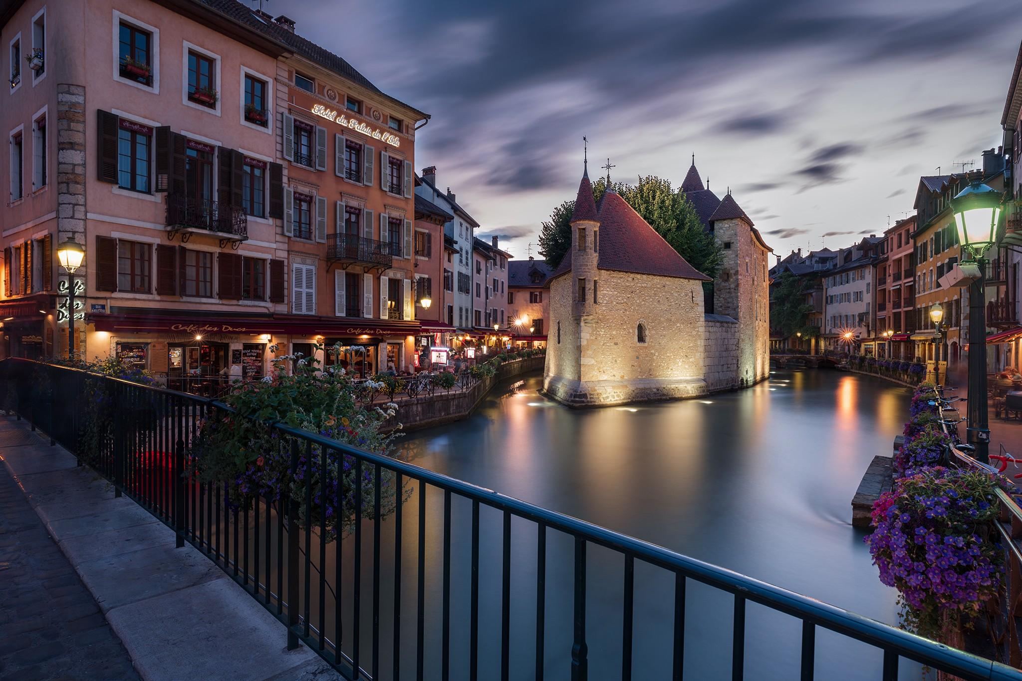 Annecy, vieille ville et son ancienne prison | Alpes