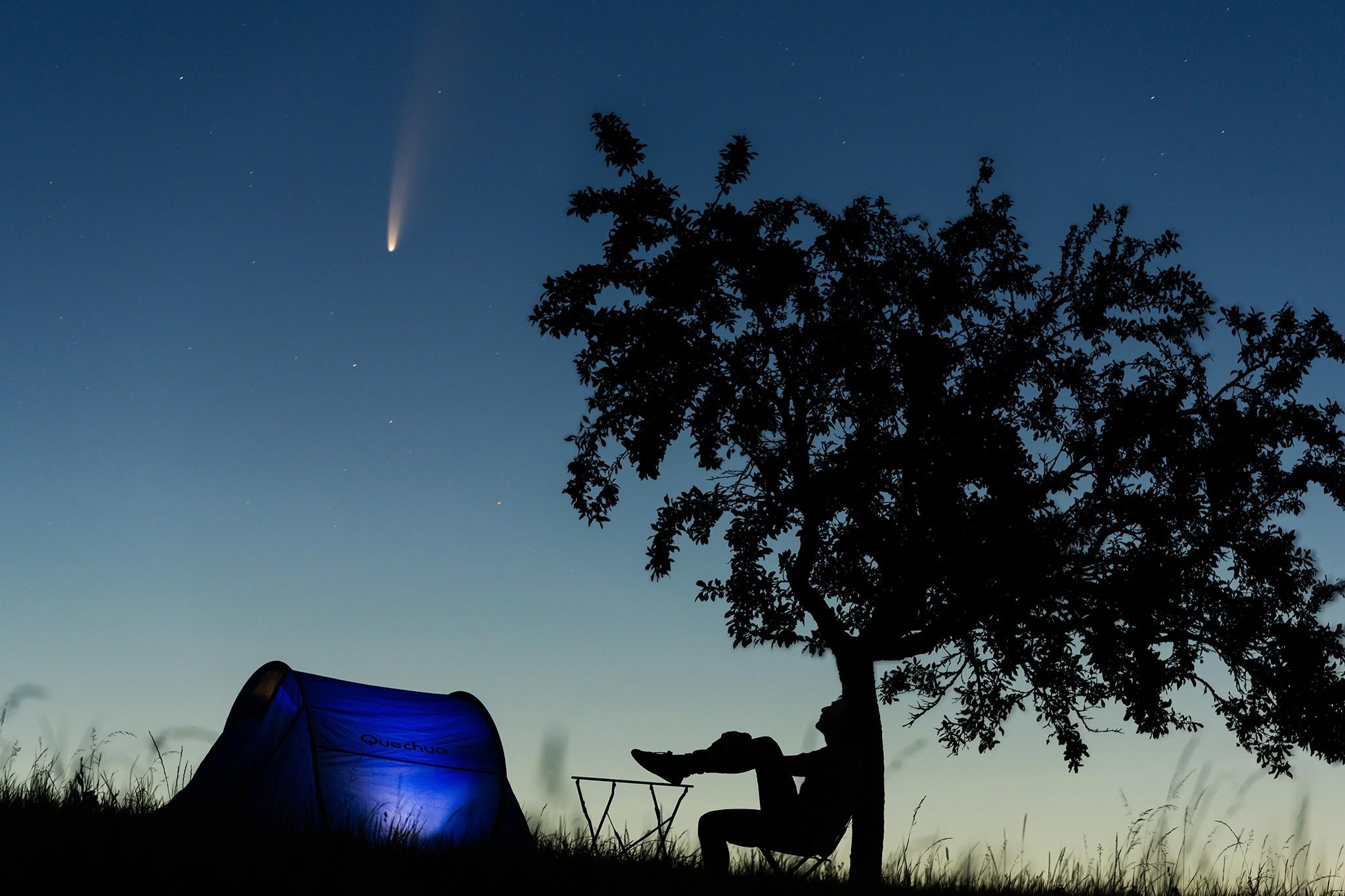 Astrophotographie et la comète Neowise en juillet 2020 | Lorraine