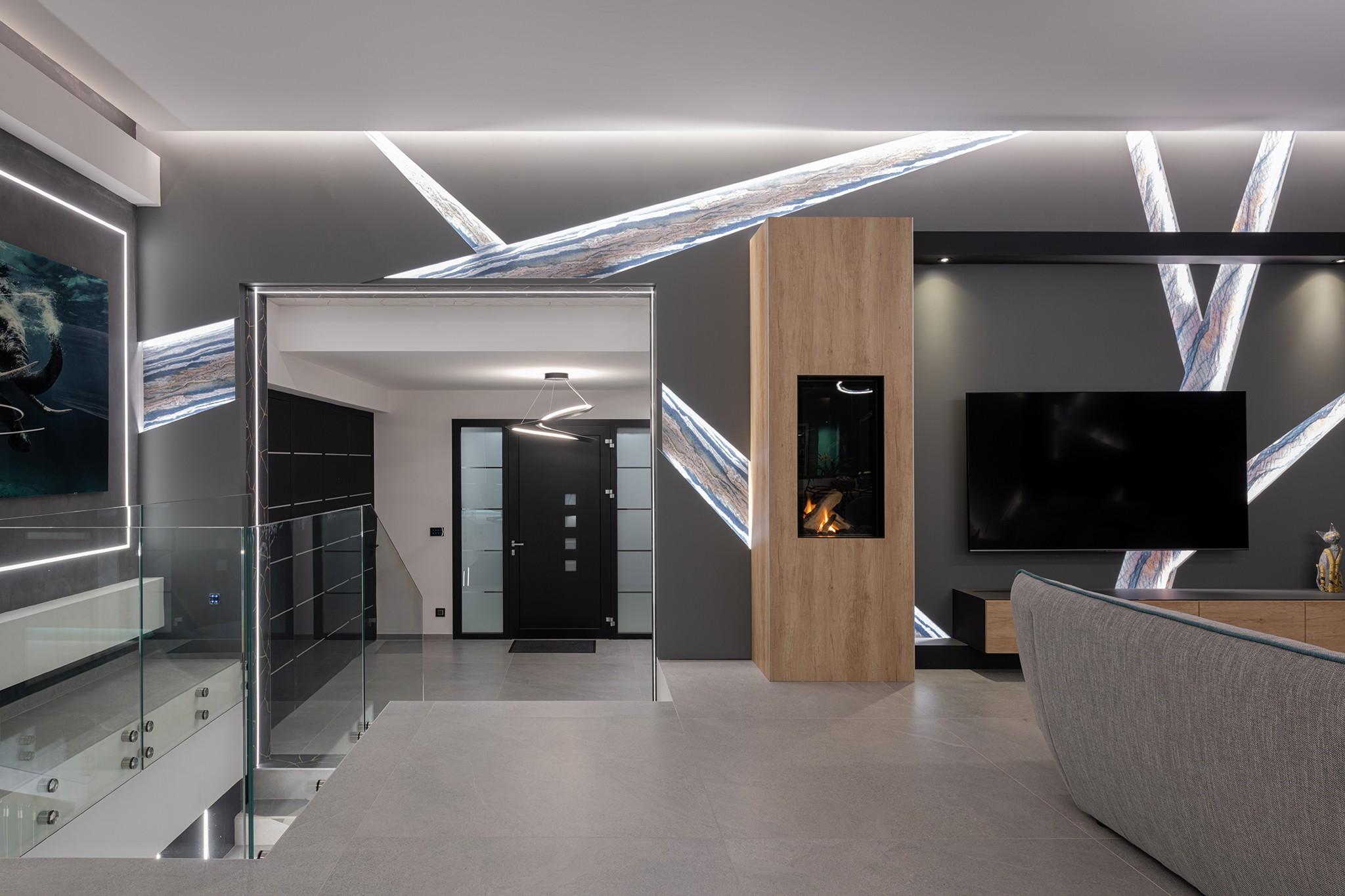 Maison atypique dessinée par un architecte d'intérieur