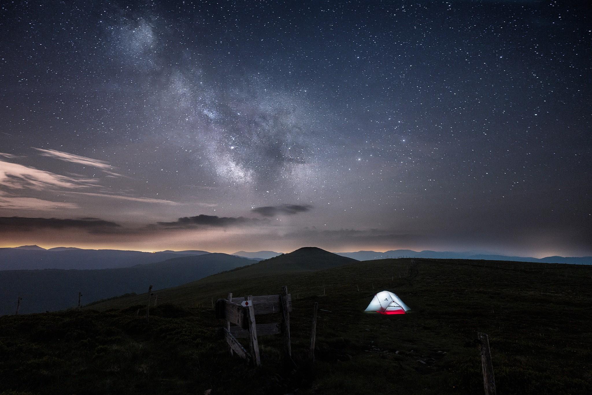 Bivouac sous les étoiles au Rothenbachkopf | Vosges © Pierre ROLIN - Photographe Nancy - Lorraine / Grand Est