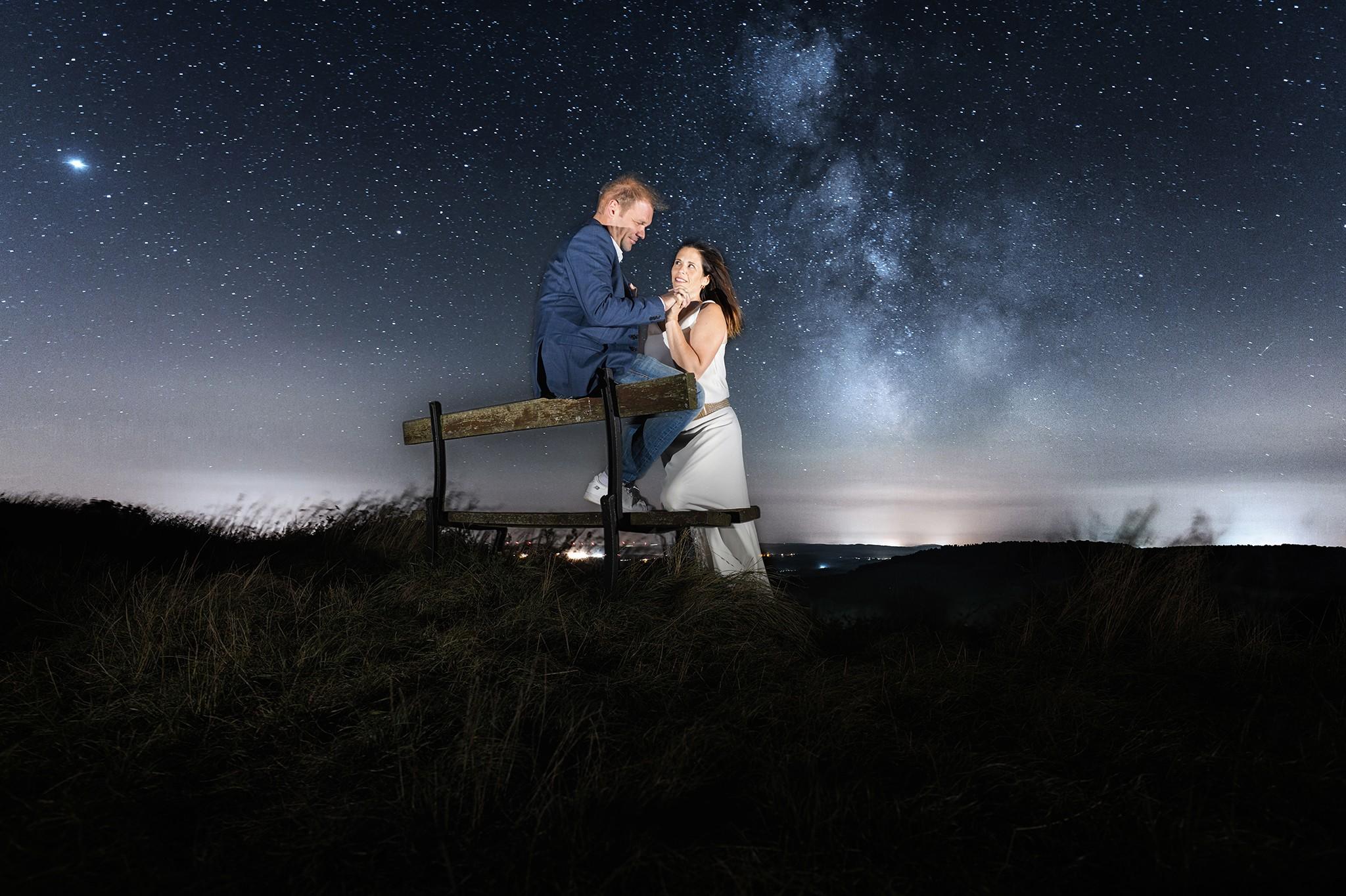 Sous la Voie lactée en astrophotographie