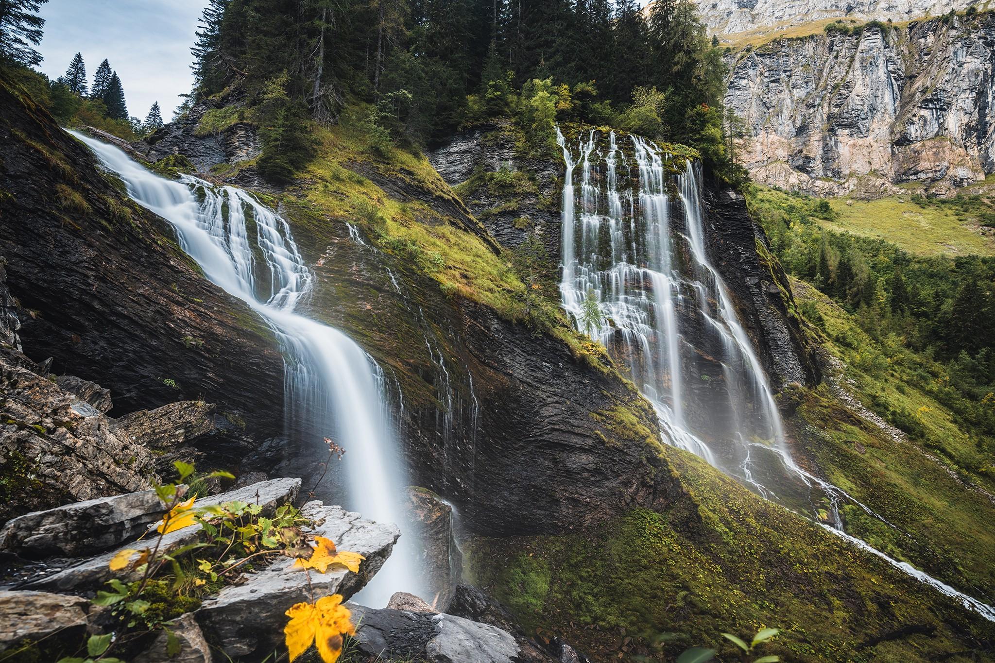 Cascade de la Pleureuse – Haute-Savoie